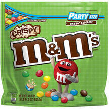 M&M'S Crispy Chocolate Party Size Candy Bag