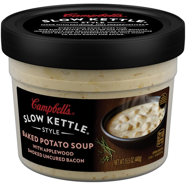 Campbell's Slow Kettle Baked Potato with Bacon Soup