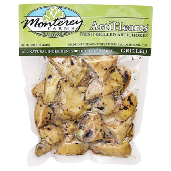 Monterey Farms Organic Fresh Grilled Artichokes