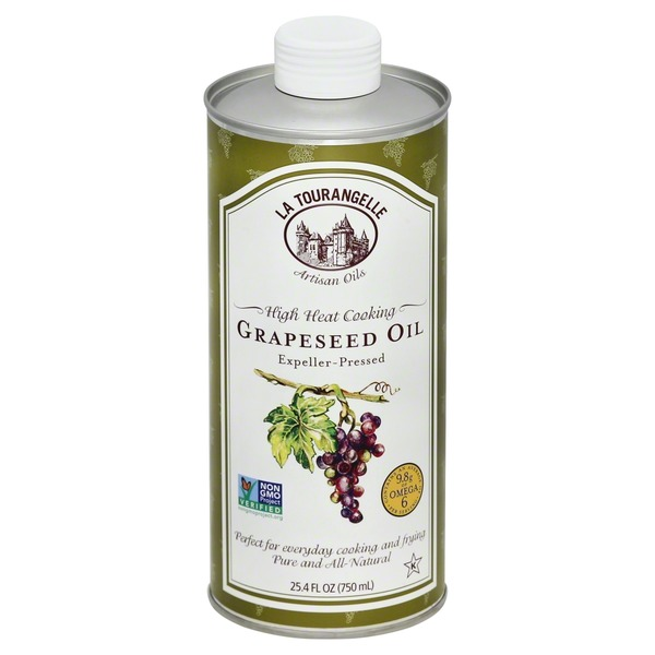 La Tourangelle High Heat Cooking Grapeseed Oil