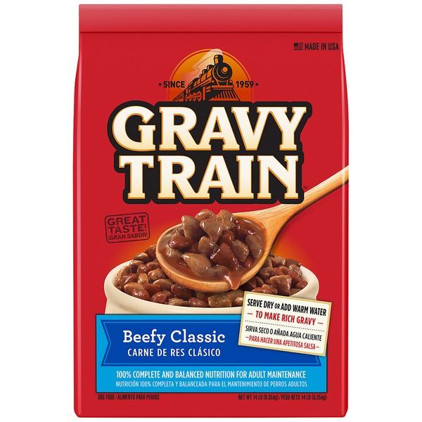 Gravy Train Beefy Classic Dry Dog Food