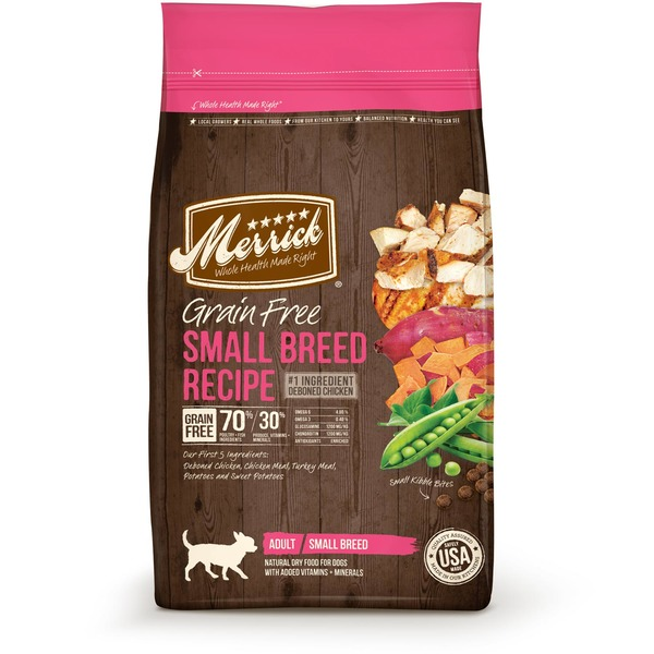 Merrick Grain Free Adult Small Breed Recipe Dry Dog Food
