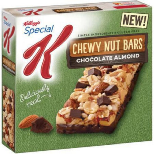 Kellogg's Special K Chocolate Almond Chewy Nut Bars