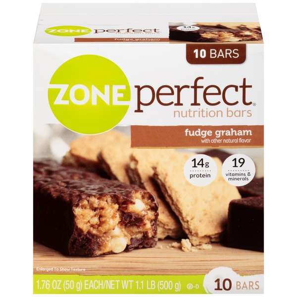 Zone Perfect Fudge Graham Nutrition Bars