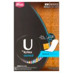 U by Kotex Curves Panty Liners, Regular, Unscented, 80 Count