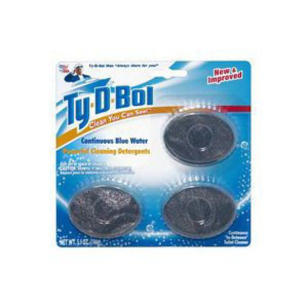Ty-D-Bol Toilet Cleaner Tablets - 3 CT