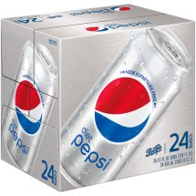 Diet Pepsi Cola 24-12 fl. oz. Cans