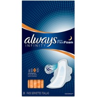 Always Infinity Always Infinity Overnight Pads with Wings 28 ct Feminine Care