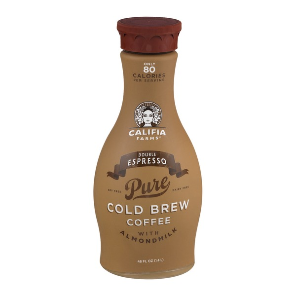 Califia Farms Double Espresso Pure Cold Brew Coffee With Almondmilk