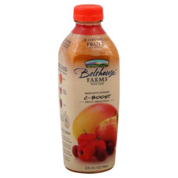 Bolthouse Farms C-Boost 100% Fruit Juice Smoothie + Boosts