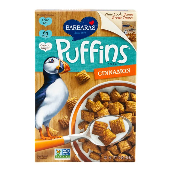 Puffins Cinnamon Cereal