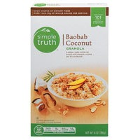Simple Truth Baobab Coconut Granola