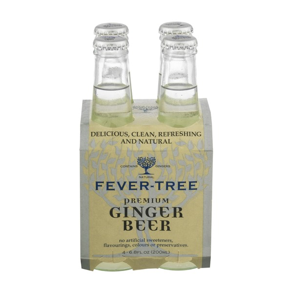 Fever-Tree Premium Ginger Beer - 4 CT