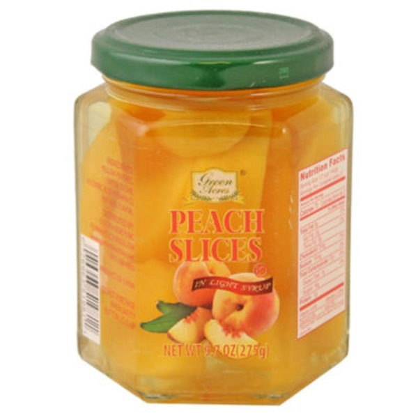 Green Acres Peach Slices