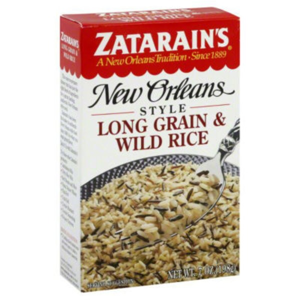 Zatarain's Long Grain & Wild Rice Mix