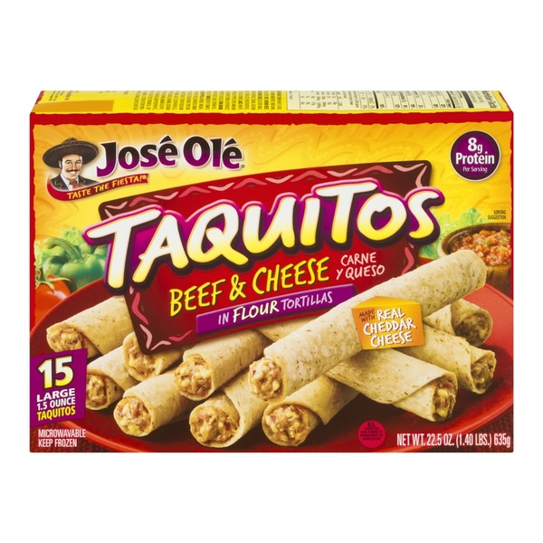 Jose Ole Beef & Cheese Taquitos