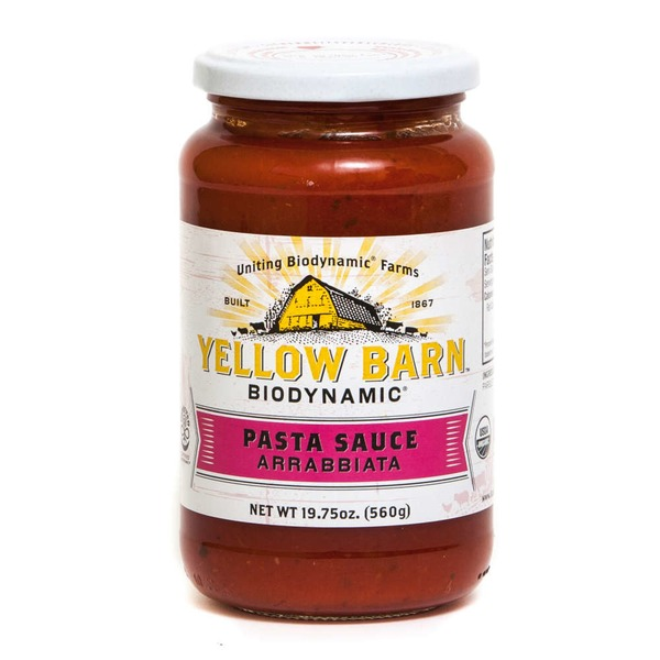 Yellow Barn Biodynamic Organic Arrabbiata Pasta Sauce