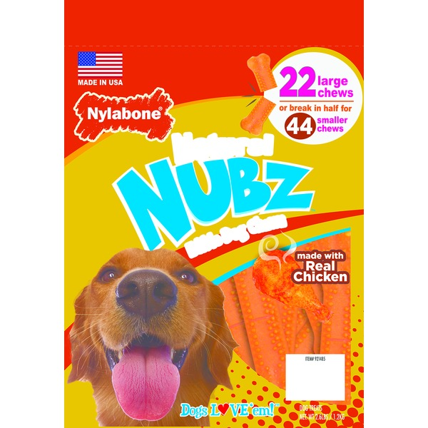 Nylabone Nubz Dental Dog Chews