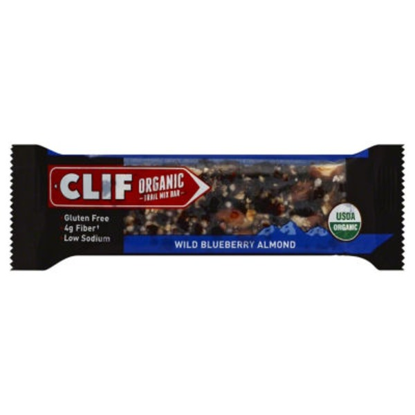 Clif Organic Trail Mix Wild Blueberry Almond Organic Trail Mix Bar