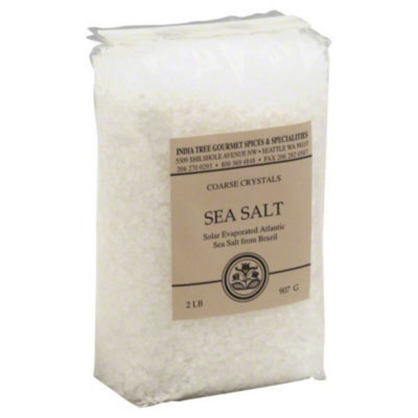 India Tree Coarse Crystals Sea Salt