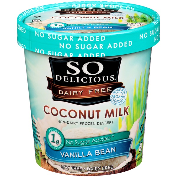 So Delicious Coconut Milk Vanilla Bean Non-Dairy Frozen Dessert