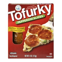 Tofurky Turtle Island Foods Tofurky Pepperoni Slices