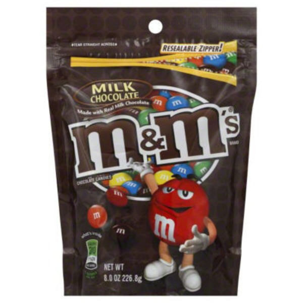 M&M's Chocolate Candies Milk Chocolate You Picked The New Color Mix!