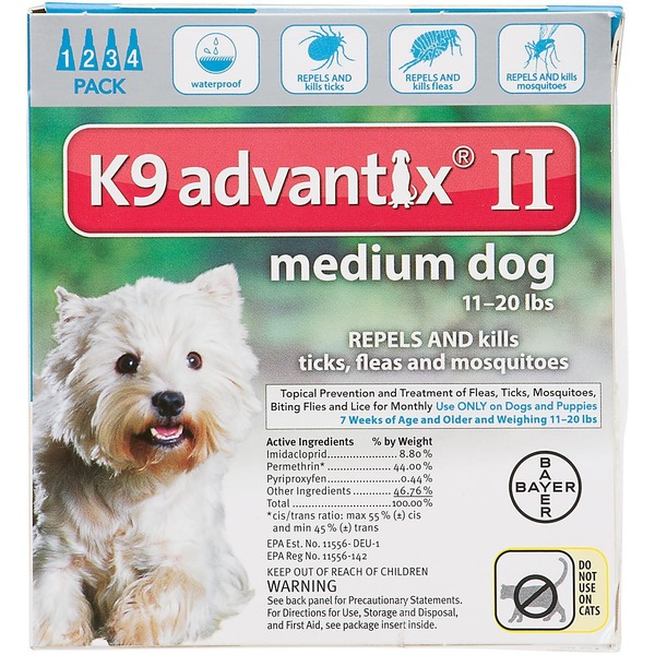 K9 Advantix II K9 Advantix® II Pet Insect Treatment for Dogs