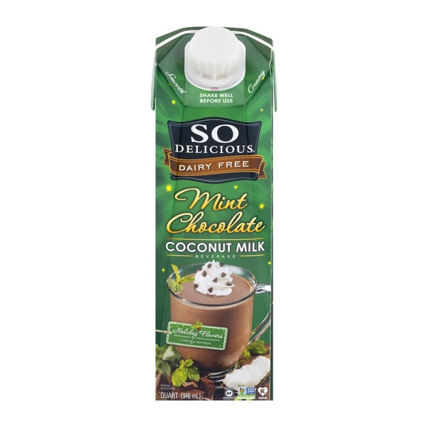 So Delicious Dairy Free Mint Chocolate Coconut Milk