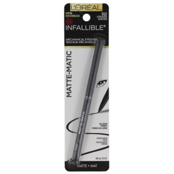 Infallible 512 Ultra Black Matte-Matic Liner
