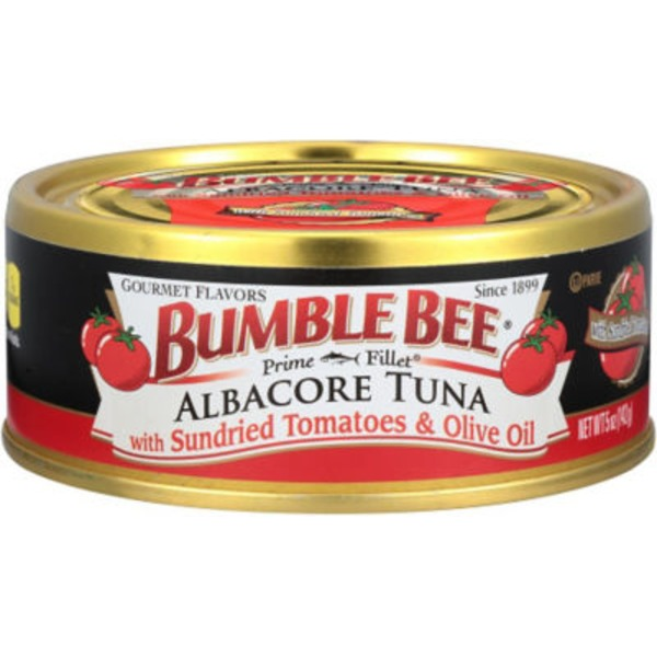 Bumble Bee Gourmet Albacore with Sundried Tomatoes & Olive Oil Tuna