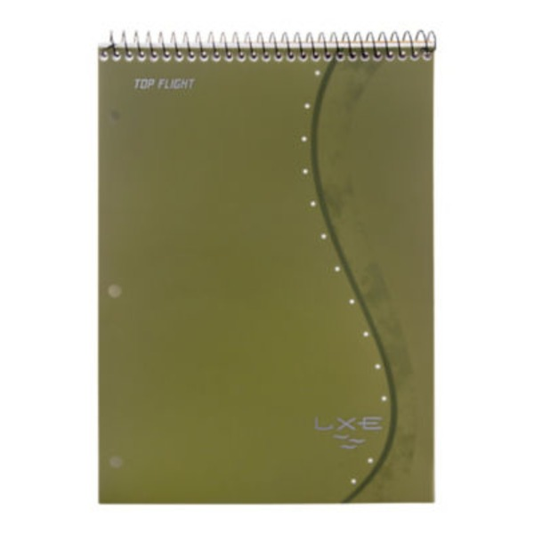 Top Flight LXE Top Wire Notebook College Rule 70 Sheets