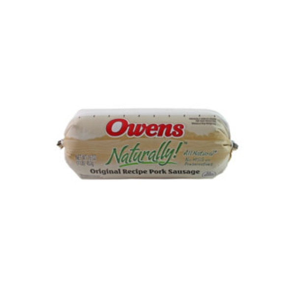 Owens Naturally! Original Recipe Pork Sausage