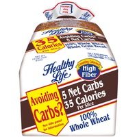 Healthy Life 100% Whole Wheat Whole Grain Bread