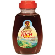 Aunt Jemima Country Rich Homestyle Syrup, 8 Fl Oz