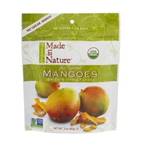 Made in Nature Sun Ripened Mangoes Dried & Unsulfured
