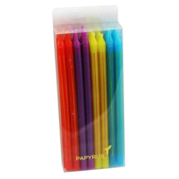 Papyrus 5 Inch Multi Colored Birthday Candles