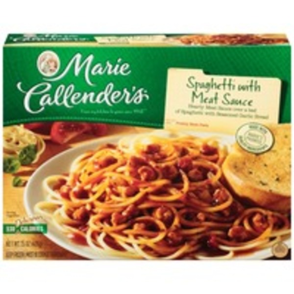 Marie Callender's With Meat Sauce Spaghetti