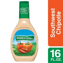 Hidden Valley Farmhouse Originals Dressing, Southwest Chipotle, 16 Ounces