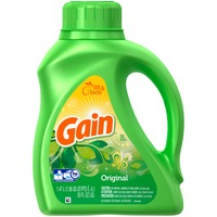 Gain Liquid Laundry Detergent, Original Scent, 32 loads, 50 oz Laundry