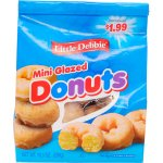Little Debbie Mini Glazed Donuts, 10.5 oz
