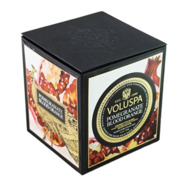 Voluspa Maison Noir Collection, Classic Maison Candle, Pomegranate BLO