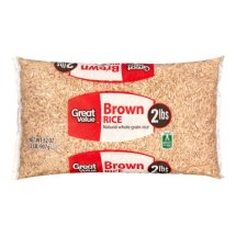 Great Value Brown Rice, 32 oz