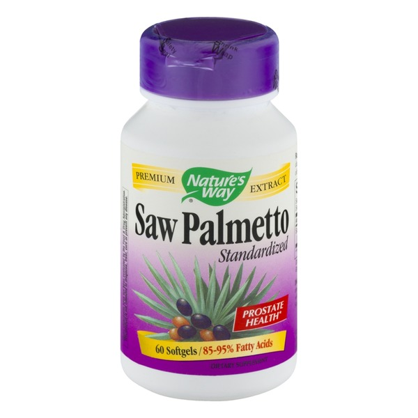 Nature's Way Standardized Saw Palmetto - 60 CT