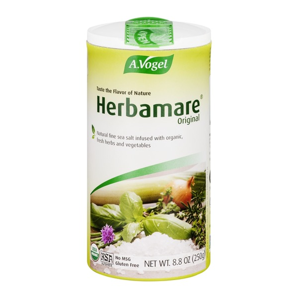 A. Vogel Herbamare Original Natural Fine Sea Salt With Organic, Fresh Herbs And Vegetables