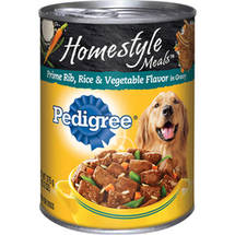 Pedigree Homestyle Meals Prime Rib Rice & Vegetables