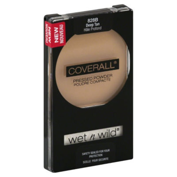 Wet n' Wild Coverall Pressed Powder Deep Tan 828B