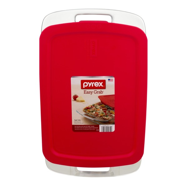 Pyrex Easy Grab with Lid Oblong 9