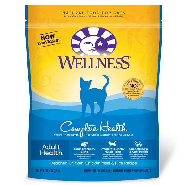 Wellness Complete Health Deboned Chicken Chicken Meal & Rice Adult Cat Food