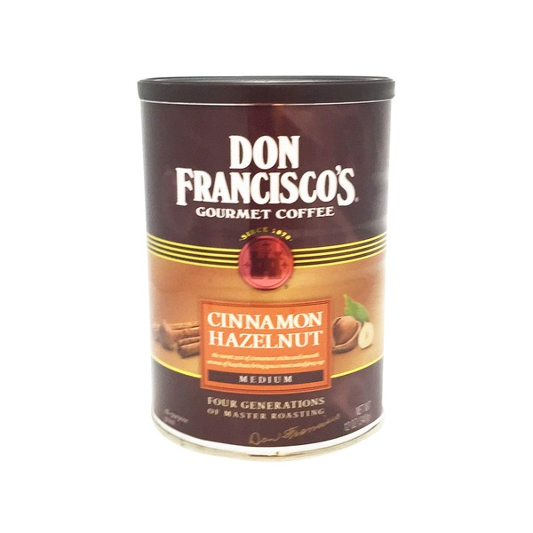 Don Francisco's Gourmet All Purpose Cinnamon Hazelnut Medium Ground Coffee